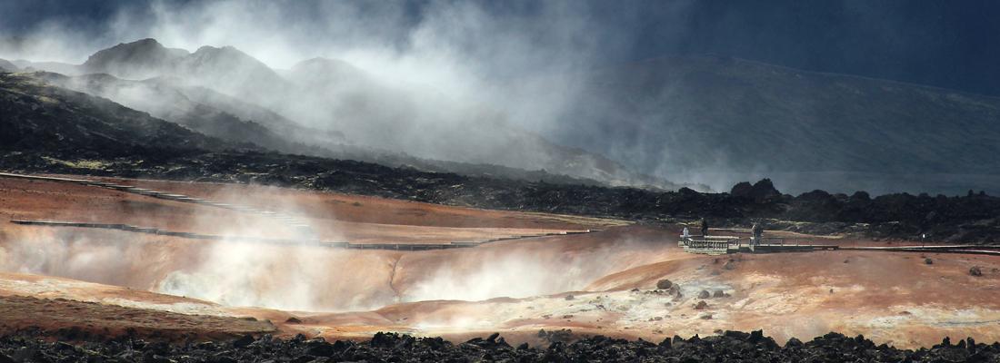Island: Solfataren im Myvatngebiet