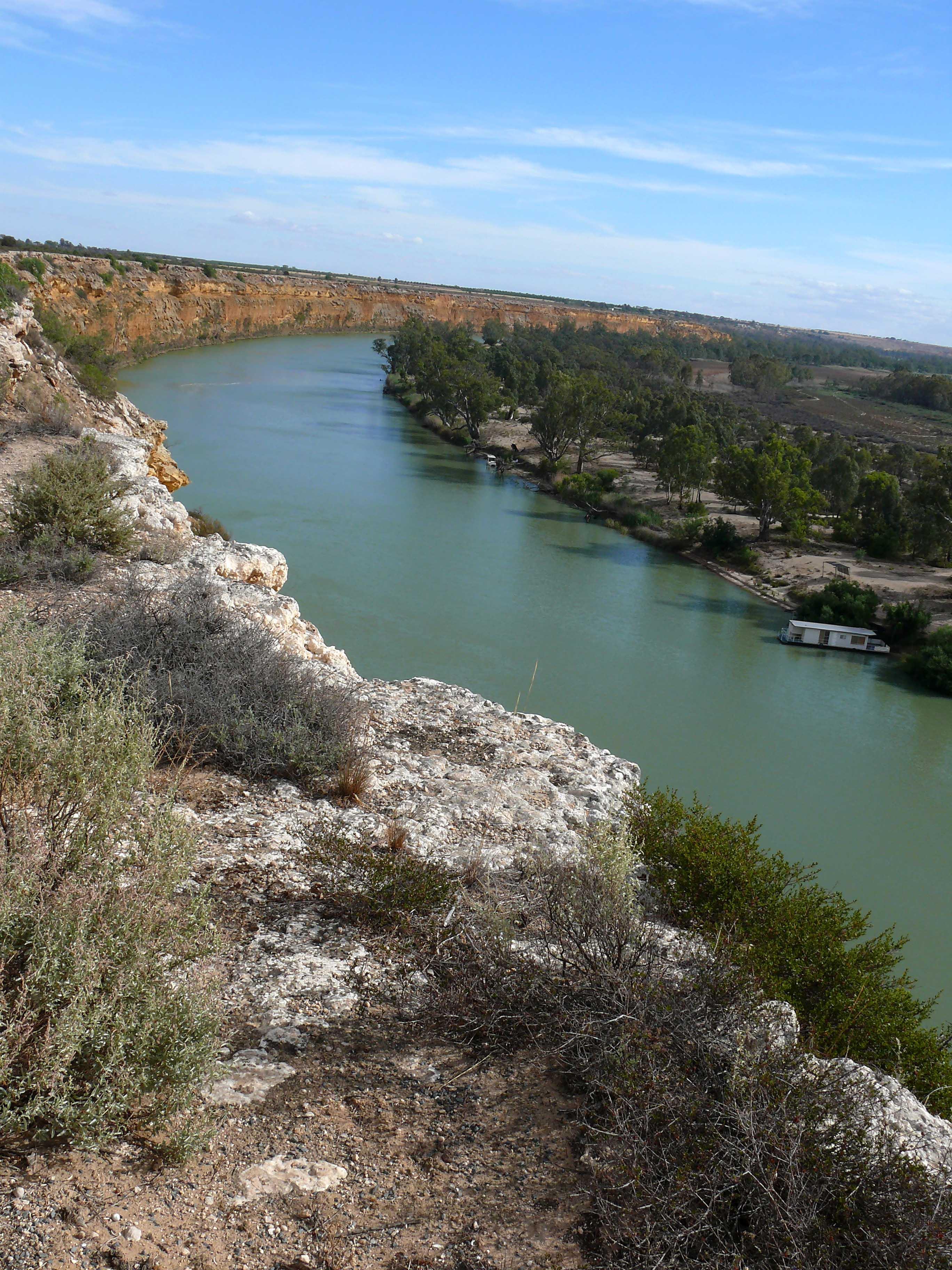 Murray river von oben, knoller