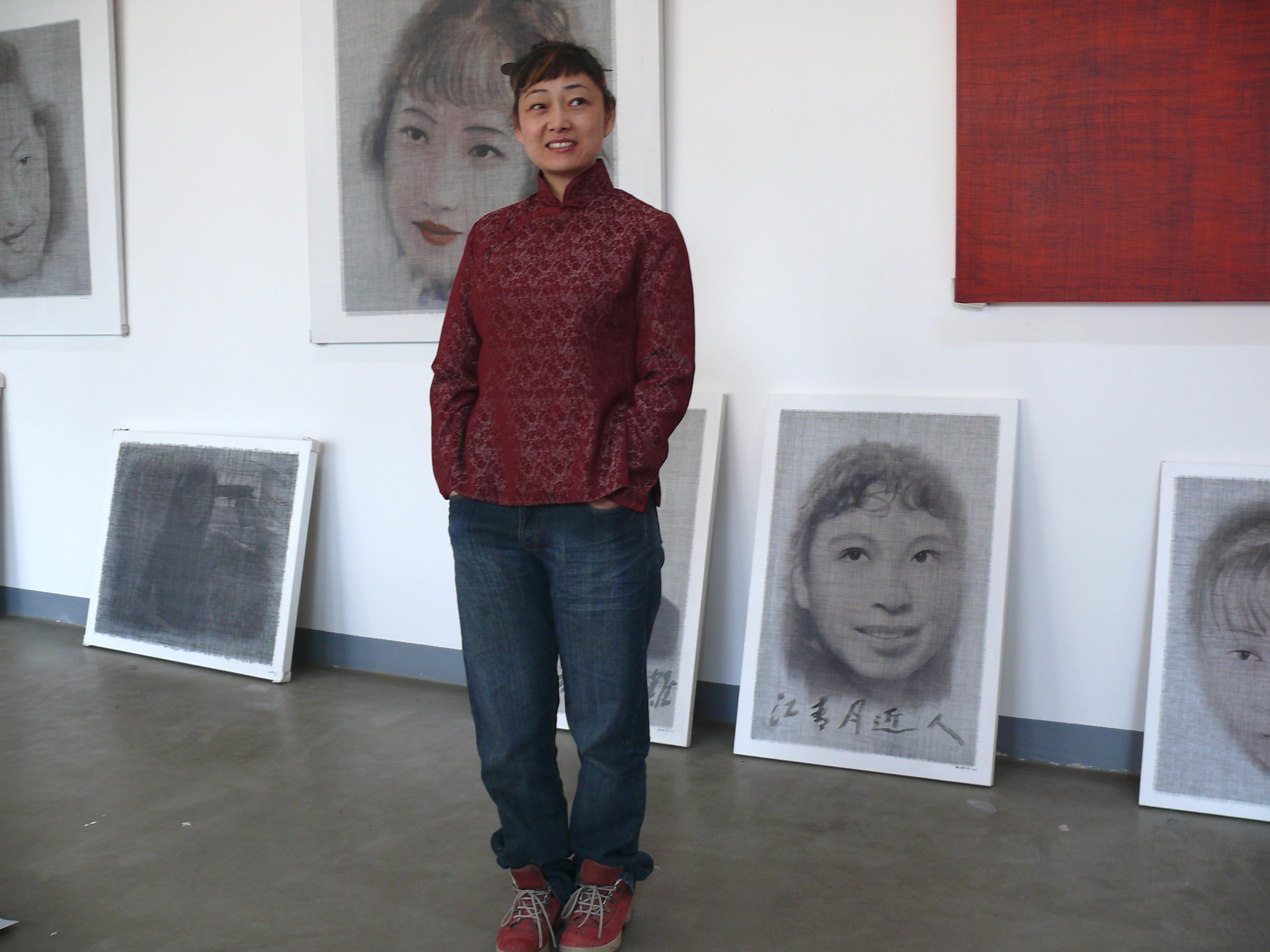Yan Ling Ma im Studio