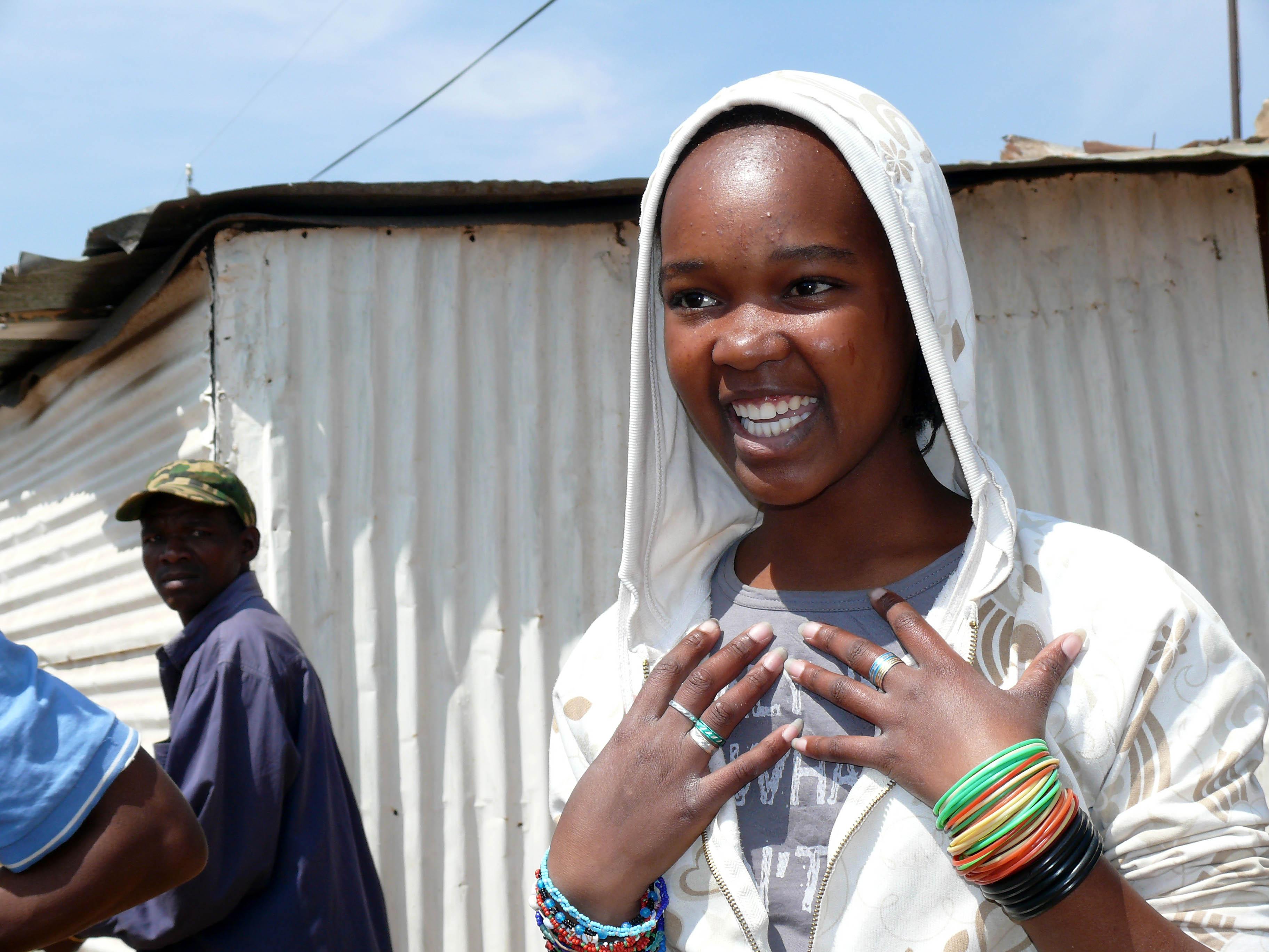 Mädchen Soweto tz
