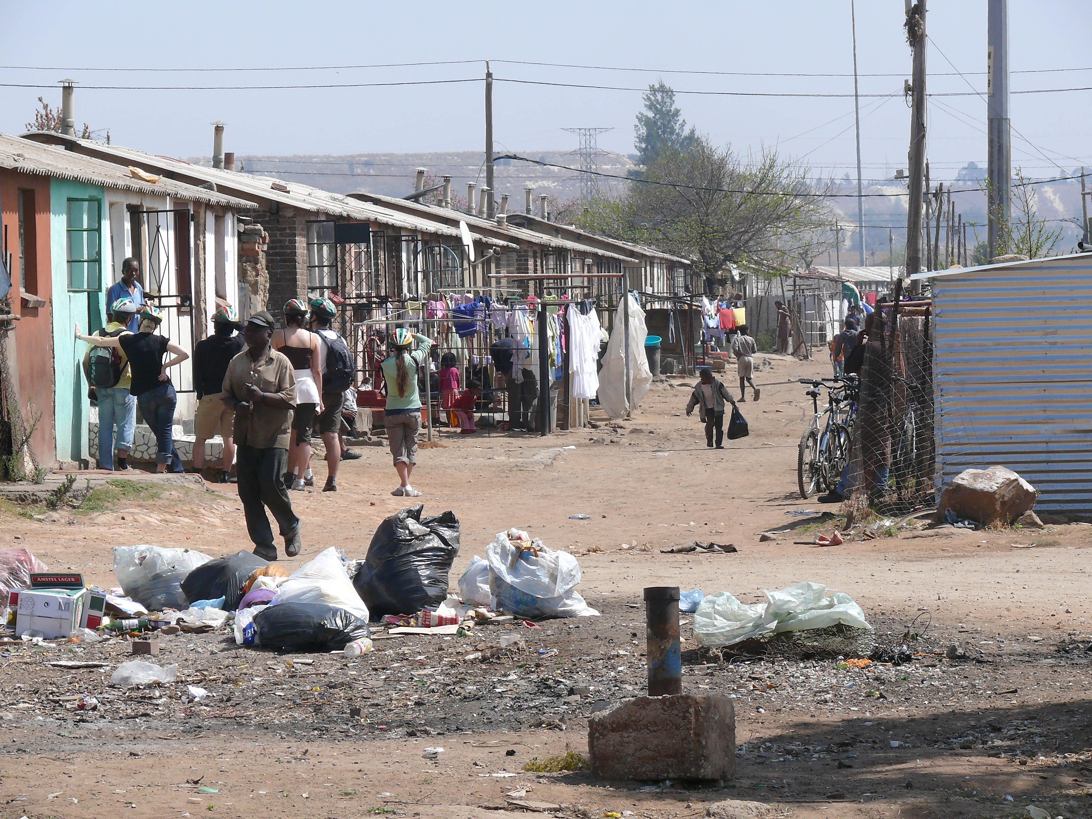 knoller, Straßenszene Soweto tz