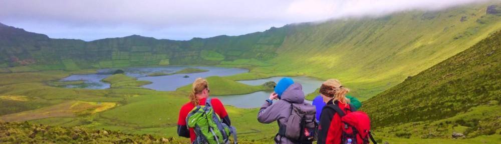 Azoren_Das Innenleben des Kraters erkunden auf Corvo_Ines Klima