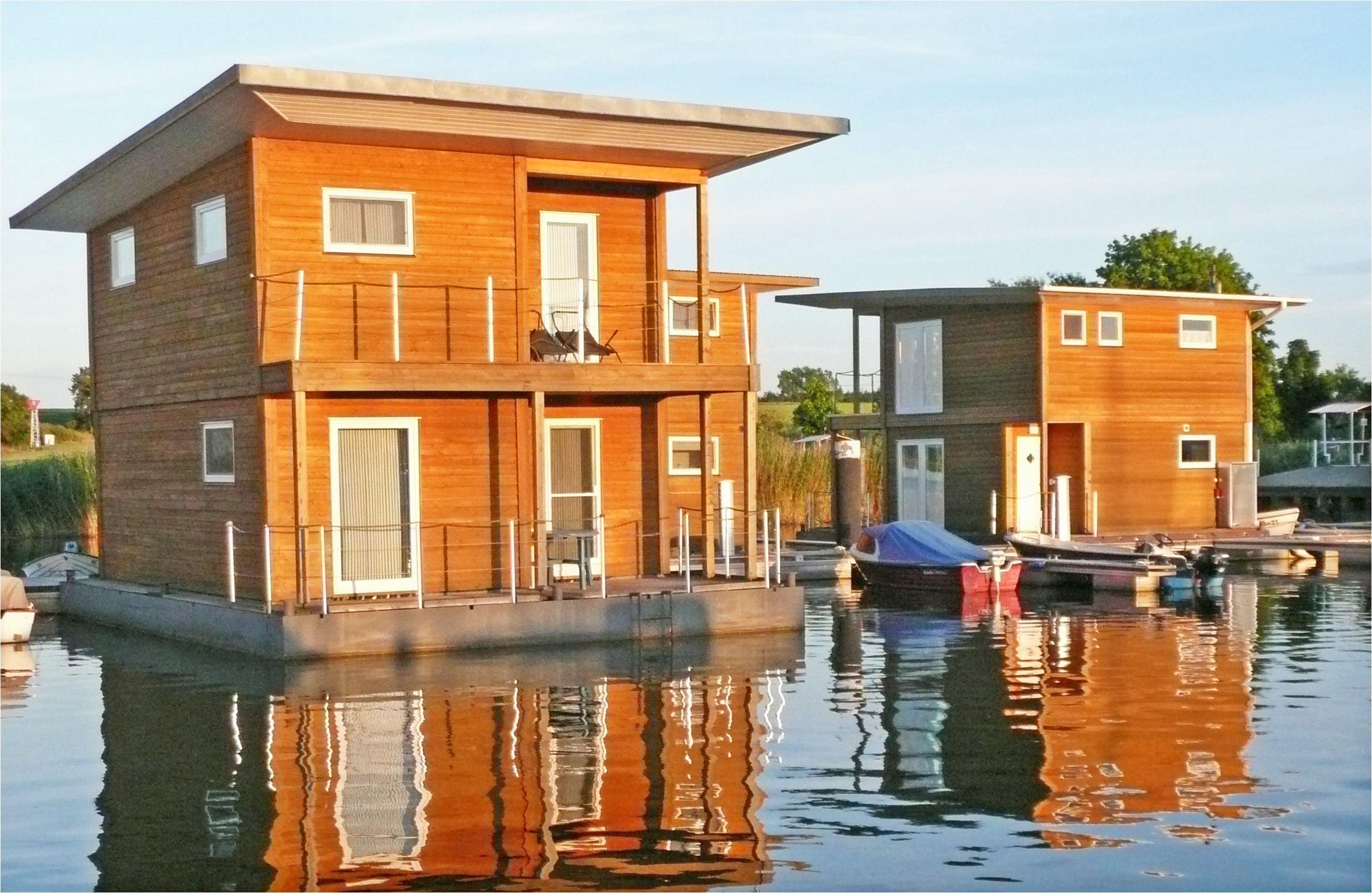Foto: Rückenwind-Ferien, Floating Houses in Kröslin