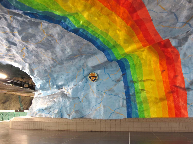 Foto: Nowak, Stockholm, Kunst in der Metro